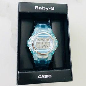 Baby G-Shock Ice Blue Watch